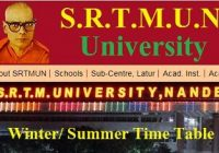 SRTMUN Time Table