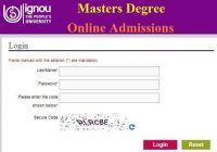 IGNOU Masters Degree Admissions Jan