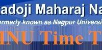 Nagpur University Time Table