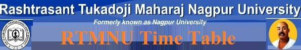Nagpur University Time Table 2021