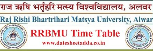 Mastya University Time Table 2021