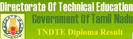 TNDTE Diploma Revaluation Result 2021