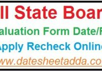 10th Revaluation Form 2019
